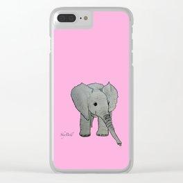 Emma Sweet Pea Clear iPhone Case