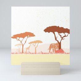 Zutopia´s Safari Mini Art Print