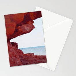 Red Rocks and Sapphire Seas Stationery Cards