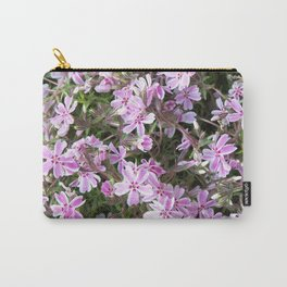 Pink & White Sweet William Carry-All Pouch