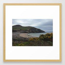 Minard Beach Framed Art Print