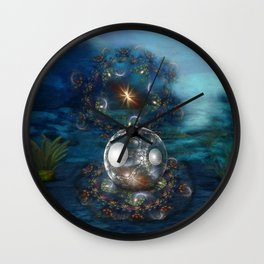 Oyster Bed Wall Clock