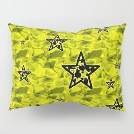 Toxic Stars Pattern Pillow Sham