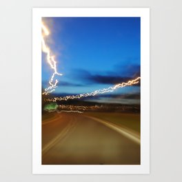 British roadside 2 Art Print
