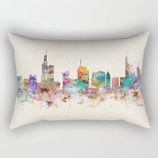 Frankfurt city Germany Rectangular Pillow