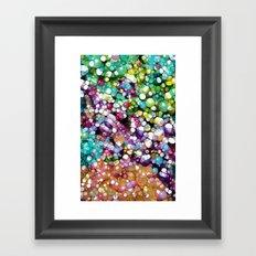 Super Happy Colors Framed Art Print