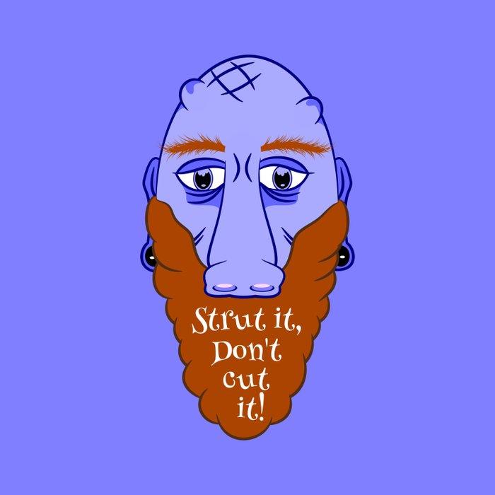 Beard Strut it Comforters