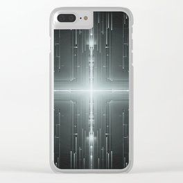 M45 Slit Dimension Clear iPhone Case