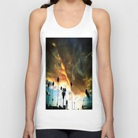 hollywood Tank Tops featuring HollyWood Clouds!!! by Arturo Garcia