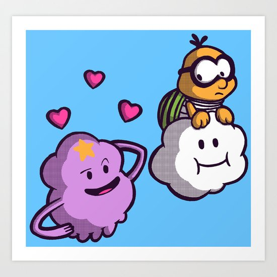 Lumpy Space Princess: You know you want these lumps! Art Print