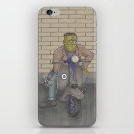 Frankenstein Scooter iPhone Skin