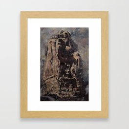 As If Itself Created What It Hears Framed Art Print