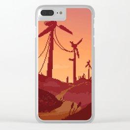 A Fresh Breeze at Dawn Clear iPhone Case