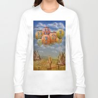 home sweet home Long Sleeve T-shirts featuring Sweet Home by teddynash