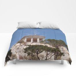 Roman Temple Near Marseille Comforters