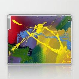 Uprising - Abstract painting Laptop & iPad Skin