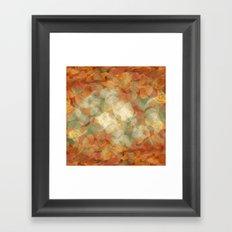 Autumn times Framed Art Print