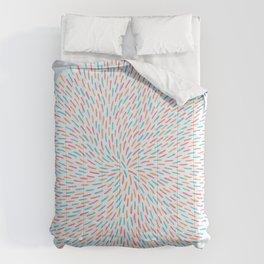 Circle Murmuration Comforters