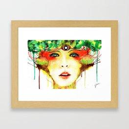 Mori Framed Art Print