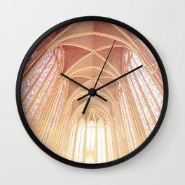 Saint Chapelle Paris Wall Clock