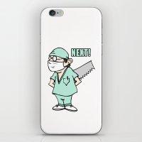 scrubs iPhone & iPod Skins featuring NEXT! by Pixelholic