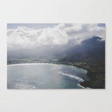 Hanalei Bay - Kauai, Hawaii Canvas Print