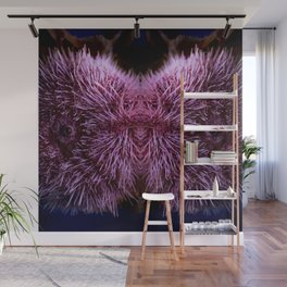 Pink Sea Urchin Wall Mural