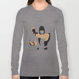 Mortal combat Ninja Long Sleeve T-shirt