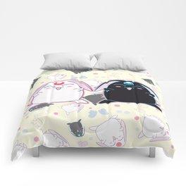 Black & White Mokona Comforters