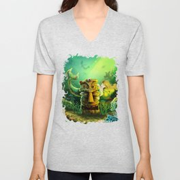 Encounter At The Cove Unisex V-Neck