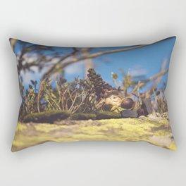 Wood Elf II Rectangular Pillow