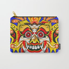 Balinese mask / Bali / Barong Carry-All Pouch
