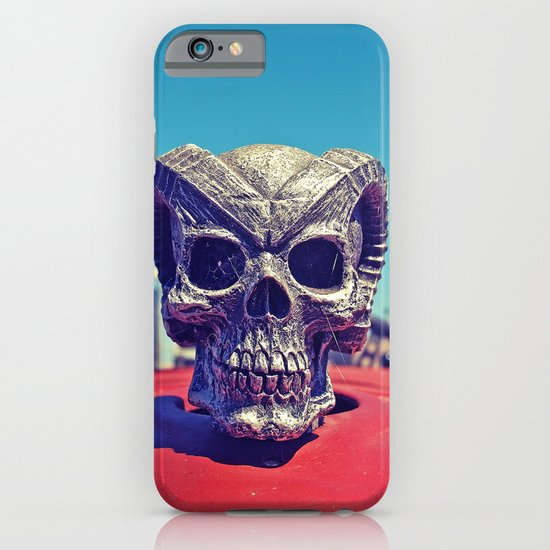 Evil hood ornament iPhone & iPod Case