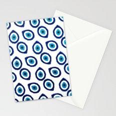 Evil Eye Teardrop Stationery Cards
