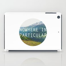 nowhere in particular iPad Case