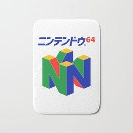 Japanese Nintendo 64 Pullover Bath Mat
