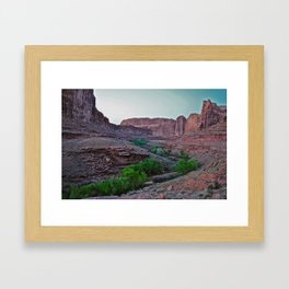 Is it really that green? Framed Art Print