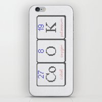 cook iPhone & iPod Skins featuring CoOK by LacyDermy