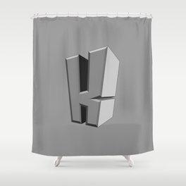 Radonator Monster Normal Shower Curtain