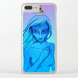Goddess of desires Clear iPhone Case