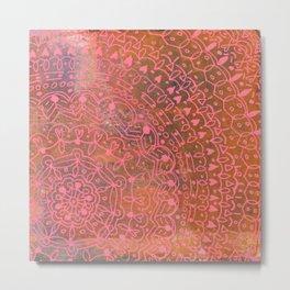 Linear No. 11 Metal Print