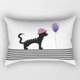 Cat With Hat Rectangular Pillow
