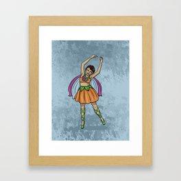 April Fairy Framed Art Print