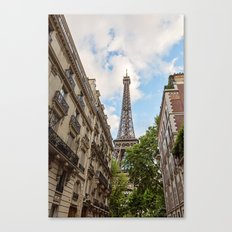 Hello, Paris Canvas Print