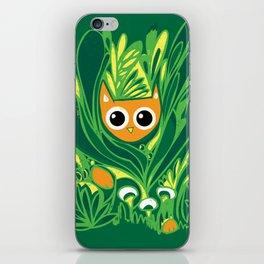 Cat in the Wild iPhone Skin