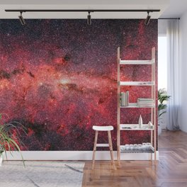 Don't Be Afraid To Reach For The Stars, Galaxy Background, Universe Large Print, Space Wall Art Wall Mural