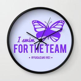 FOR THE TEAM - Ryugazaki Rei Wall Clock