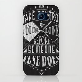 Take Control iPhone Case