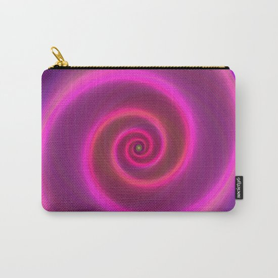 Neon spiral Carry-All Pouch