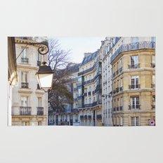 Streets of Paris. Rug